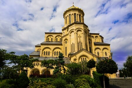 Holy Trinity Cathedral of Tbilisi, Georgia.