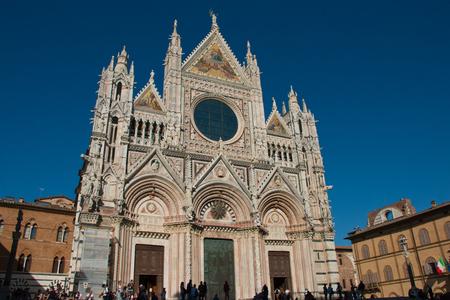 siena: Duomo, Siena, Tuscany Stock Photo