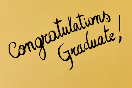 congratulations graduate Reklamní fotografie