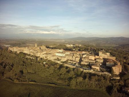 aereal: Aereal view Casole dElsa