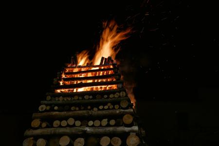 Tradition big torch Abbadia San Salvatore