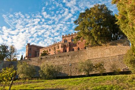 Brolio castle chianti Editorial