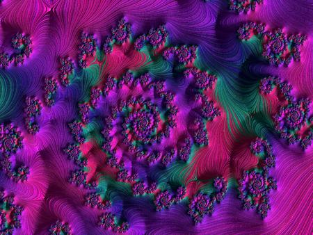 pc fractal art Stockfoto