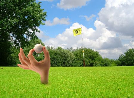 exactness: funny golf