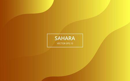gradient geometric sahara background Иллюстрация