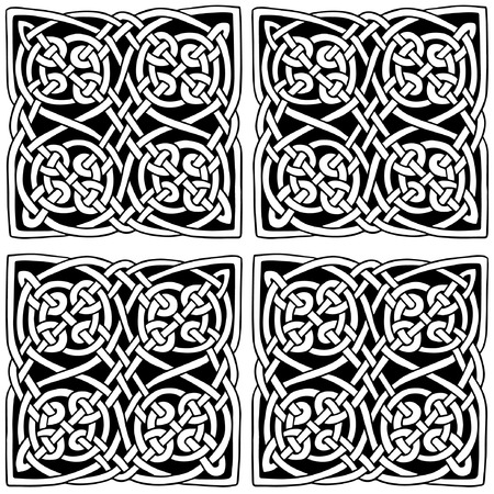 Celtic style decoration vector pattern  Vector