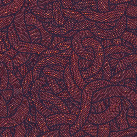 Snake skin vector seamless pattern. Vector