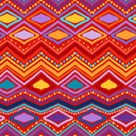 Zigzag seamless pattern. Vector
