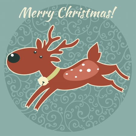character illustration: ChristmasNew Year character illustration.