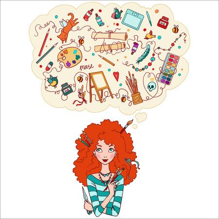 What girls dream about? Artist Girl.