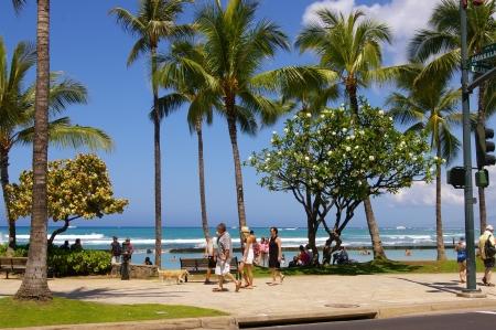 Sunny, wonderful day in Waikiki