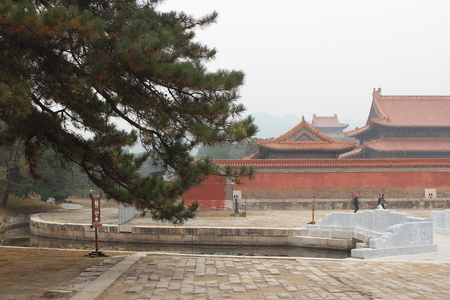 tumbas: Qing tumbas