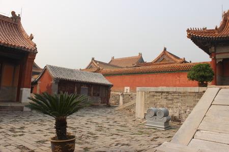 tumbas: Hebei Qing tumbas, la arquitectura antigua Editorial