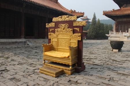 hebei: Hebei province, zunhua, Kiyotaka tombs, ancient brick, long chairs, Editorial