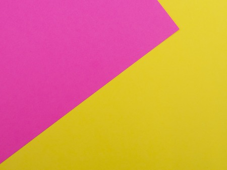 Pink and yellow background and copy space for text Banco de Imagens