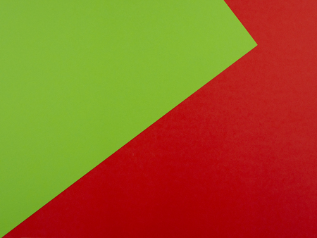 Red and green background and copyspace for text