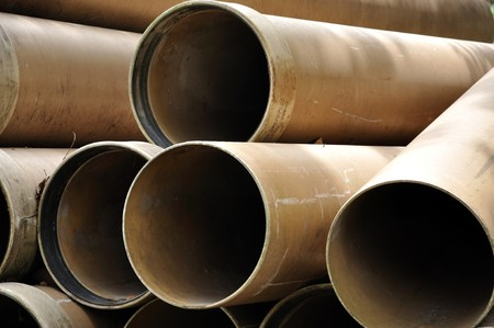 A tube, or tubing, is a long hollow cylinder used to convey fluids (liquids or gases). photo