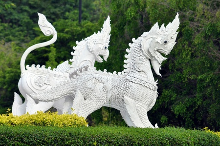 modernize: They are animal in thai legend (Art of thailand).