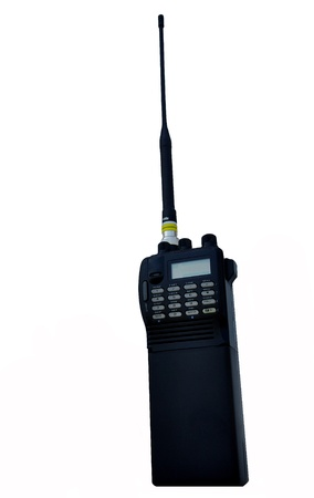 cb phone: Walkie-talkies are widely used among amateur radio operators. Stock Photo