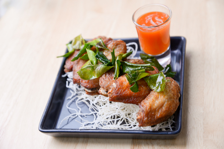 Salt and Pepper Chicken Wings usually are perfect snacks or appetizers.