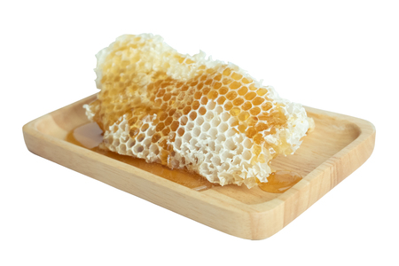 Honey in the honeycomb