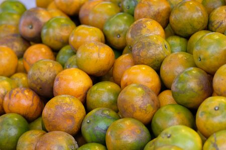 fresh orange in the market Foto de archivo - 131985391