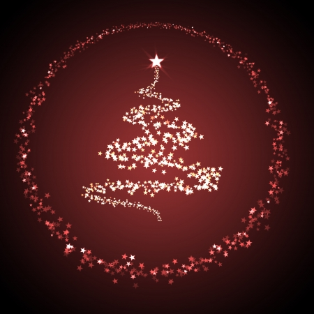 chrismas: christmas background for your designs with a christmas tree