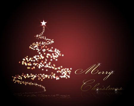 christmas background for your designs with a christmas tree an Merry Chrismas Text photo