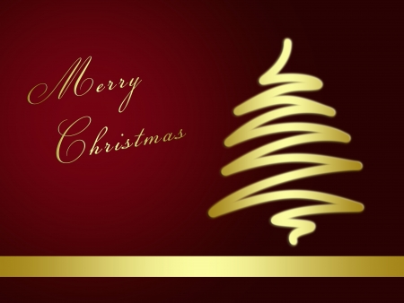 decode: christmas background for your designs with a christmas tree an Merry Christmas Text