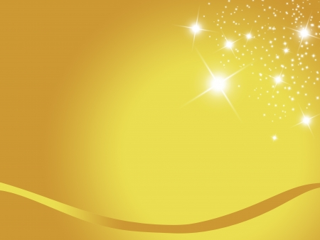 christmas background for your designs in gold with stars  photo