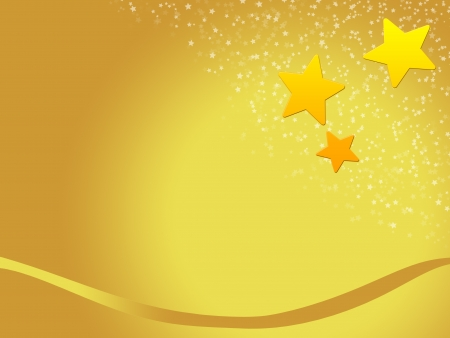 christmas background for your designs with golden stars  photo