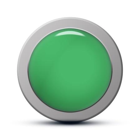 green round Icon series : clean button photo