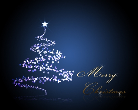 christmas background for your designs with a christmas tree ans Merry Christmas Text