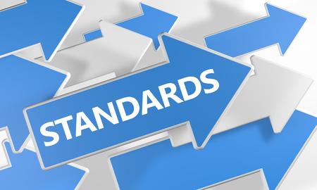 표준 3d 렌더링 개념 흰색 배경 위에 비행 파란색과 흰색 화살표와 함께.
