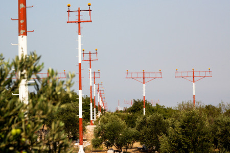 mast: Signal mast for airplane