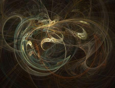 3d rendered fractal.
