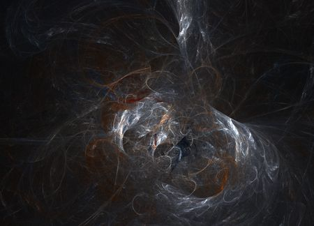 Abstract smoke wallpaper on black.