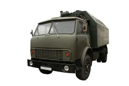Military truck photo