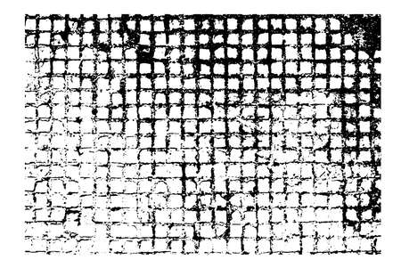 Rectangular cellular texture for your design. Rough vector illustration for backgrounds make you design look special