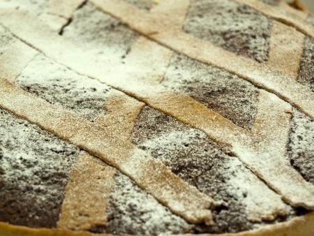 Image shows a traditional Croatian cake Makarana