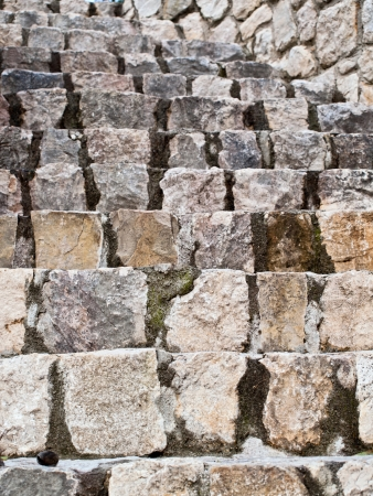 Old textured stone stairs in Dalmatia Stock Photo - 14409085