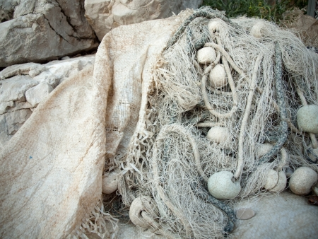 Fishing net outdoor
