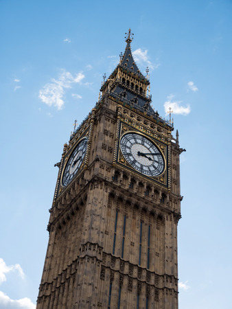 Big Ben tower clock in London