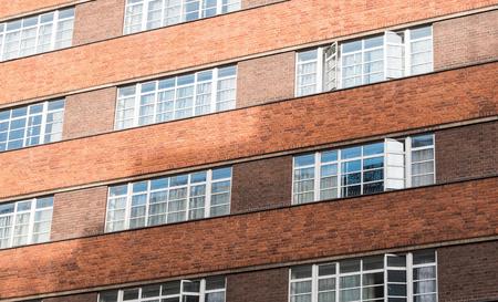 Brick facade building exterior