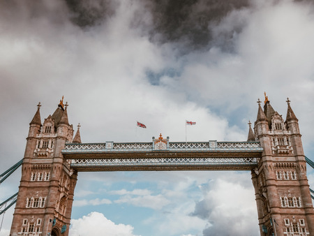 Famous Tower bridge in London