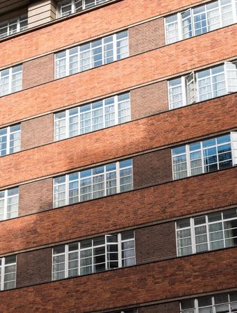 Old style brick facade building
