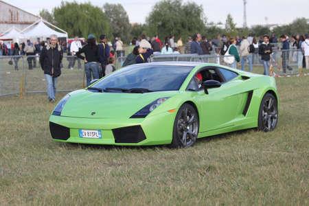 gallardo: Ferrara, Italy - September 25, 2010: Lamborghini Gallardo at Ferrara Air Show.