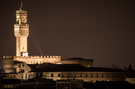 michelangelo: Florence by night, landscape from Piazzale Michelangelo.