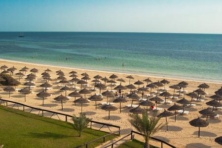 beach landscape: Djerba, Tunisia. Beach Landscape