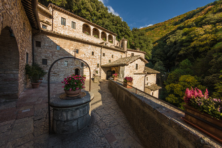 retreat: Saint Francis Hermitage retreat view in Assisi, Italy